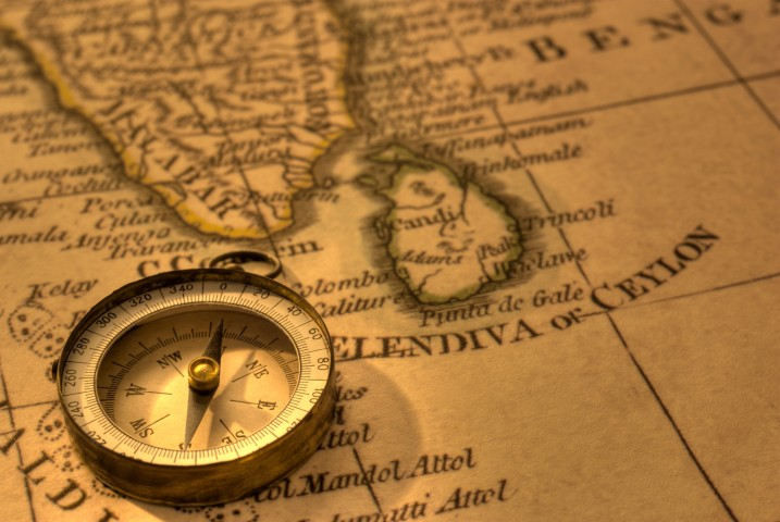 Map of India for Indian Epicurean Adventure